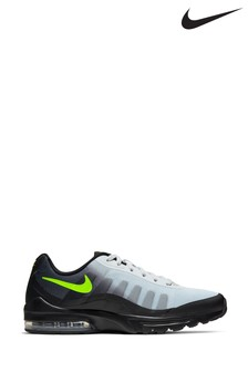Nike Black/Green Air Max Invigor Trainers