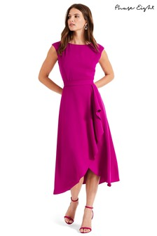 Phase Eight Purple Rushelle Dress