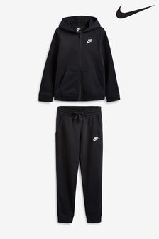 Nike Sportswear Black Fleece Tracksuit