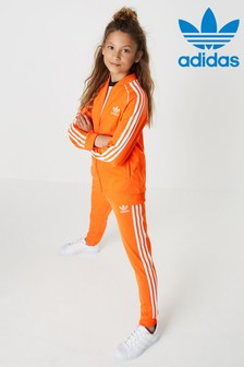 adidas Originals Orange Superstar Joggers