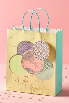 Balloon Shaker Gift Bag
