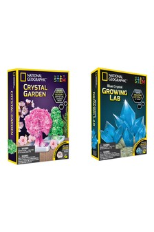 National Geographic Bundle Pack  Crystal Garden Kit / Crystal Growing Lab