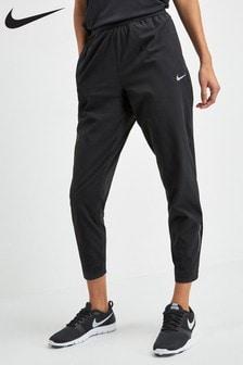 Nike Black 7/8 Running Joggers