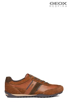 Geox Men's Wells Brown Shoe