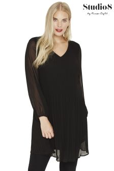 Studio 8 Black Fontaine Dress