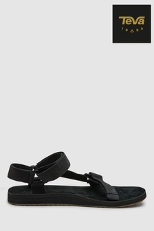 Teva Black Leather Original Universal