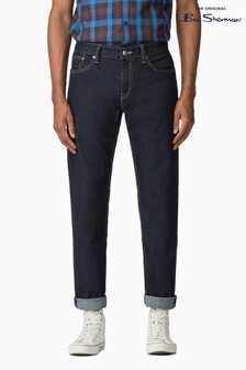Ben Sherman Blue Slim Rinse Wash Jean