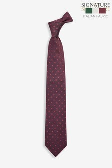 'Made In Italy' Signature Silk Tie
