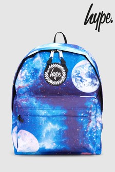 Hype. Blue Galaxy Backpack
