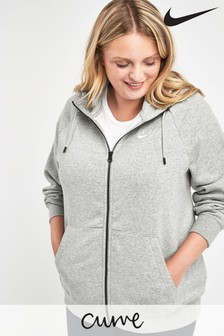 Nike Curve Essential Zip Through Hoodie