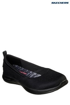 Skechers® Black City Pro Shimmer Shoe