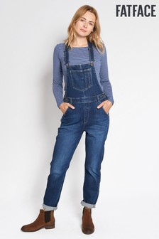 FatFace Mid Blue Dungaree