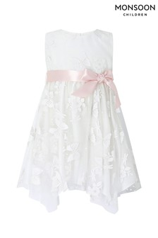 Monsoon Ivory Baby Savannah Dress