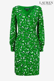 Lauren Ralph Lauren® Green Sydnie Floral Dress