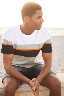 Fluro Block Pique T-Shirt