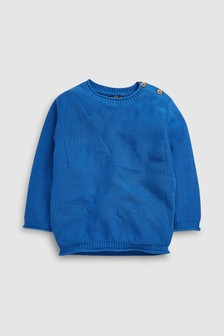 Star Ripple Knit Jumper (3mths-7yrs)