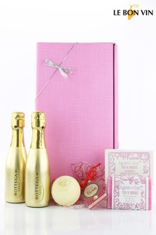 Pretty In Pink Prosecco & Pamper Gift Set