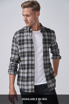 Check Flannel Regular Fit Shirt
