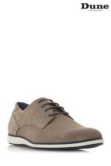 Dune London Grey Casual Gibson Shoe