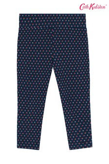 Cath Kidston® Kids Blue Twilight Micro Ditsy Leggings
