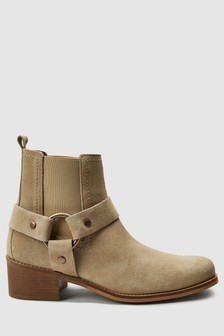 Signature Comfort Western Ankle Boots