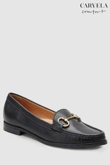 Carvela Comfort Click-Loafer in Leder, schwarz