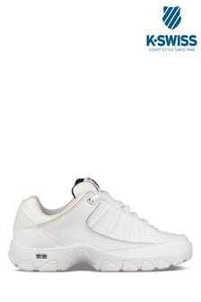 K-Swiss White ST529 Trainer