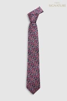 Signature Paisley Printed Tie
