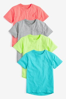 Fluro T-Shirt Four Pack (3-16yrs)