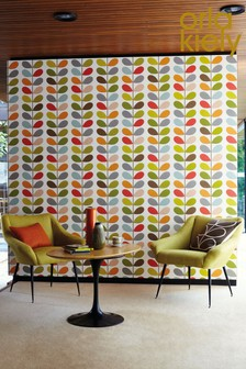 Orla Kiely Original Multi Stem Wallpaper