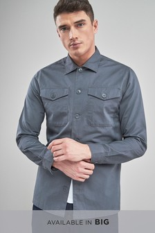 Long Sleeve Overshirt