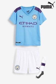 Puma® Manchester City FC 19/20 Kids Mini Kit