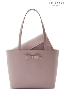 Ted Baker Pink Bow Shopper Bag