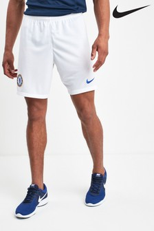 Nike White Chelsea Football Club 2019/20 Short