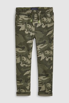 Pull-On Camo Trousers (3-16yrs)