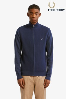Fred Perry Expanded Pique Knitted Track Jacket