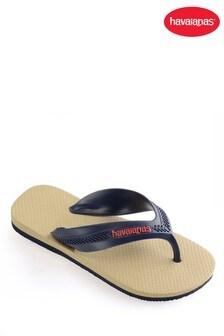 Havaianas® Kids Navy Beige Max Flip Flop