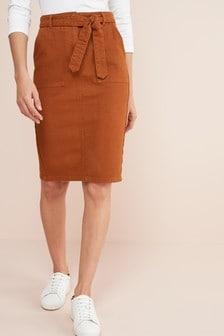Co-ord Denim Pencil Skirt