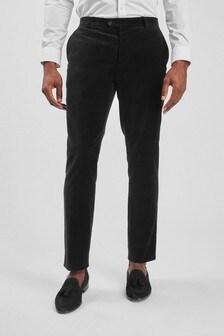 Velvet Tuxedo Trousers