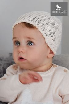 The Little Tailor Pink Baby Knitted Hat