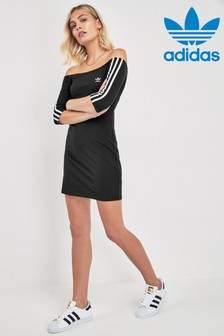 adidas Originals Cold Shoulder Dress