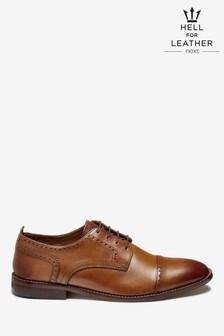 Contrast Sole Toe Cap Shoes