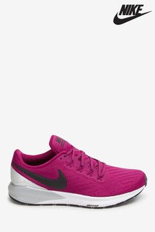 Nike Run Pink Air Zoom Structure Trainers