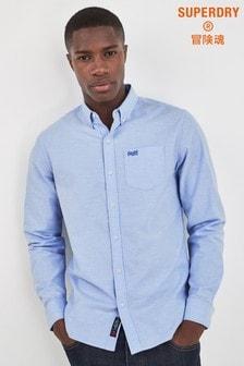 Superdry Blue Long Sleeve Shirt