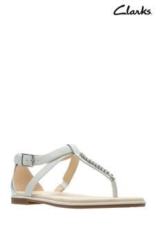 Clarks Silver Bay Poppy Sandal