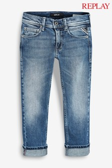 Replay® Kids Mid Wash Regular Fit Jean