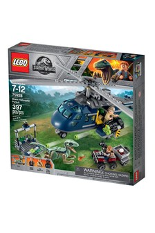 Joc LEGO® Jurassic World Blue's Helicopter Pursuit