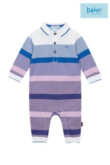 baker by Ted Baker Baby Boy Striped Romper