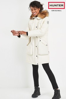 Hunter Women's White Original Insulated Parka