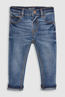 ג'ינס בגזרה רגילה עם סטרץ' (3 חודשים-7 שנים)